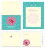 Special Event Templates and Envelope. Special Event Templates (includes A2 invite with crop marks & bleeds, A2 envelope setup and 8.5x5.5 program vector illustration
