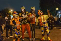 Special event - West Hollywood Halloween Carnaval Royalty Free Stock Images