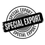 Special Export rubber stamp Royalty Free Stock Image