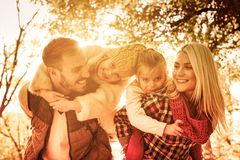Special family bonds. royalty free stock photography