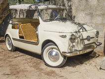 Vintage fiat 500 spider cabrio special Stock Images