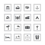 Special flat ui icons Stock Photos