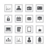 Special flat ui icons Stock Image