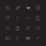 Special flat ui icons. For web and mobile applications Stock Photo