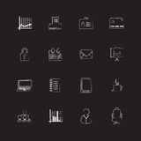 Special flat ui icons Royalty Free Stock Photography