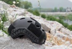 Special force Modern combat helmet. Stock Image