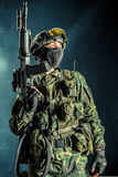 Special force soldier Royalty Free Stock Images