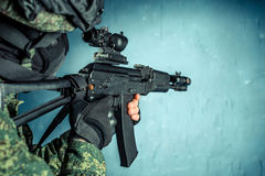 Special force soldier Stock Photos