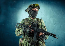 Special force soldier Royalty Free Stock Photo
