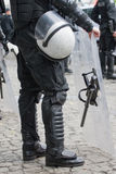 Special forces. Of police during demonstration Royalty Free Stock Photography