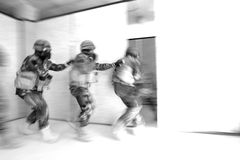 Special Forces. Tactical military exercise of Special Forces Royalty Free Stock Images