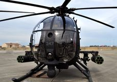 Special Forces AH-6 Little Bird Helicopter Royalty Free Stock Images