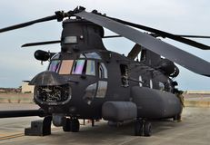 Special Forces CH-47 Chinook Helicopter Royalty Free Stock Image