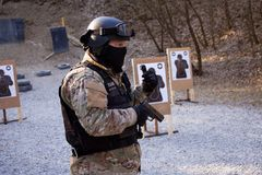 Special Forces instructor Royalty Free Stock Images