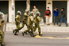 Special forces running