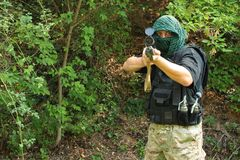 Special Forces soldier Stock Image
