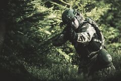 Special Forces Soldier Royalty Free Stock Image