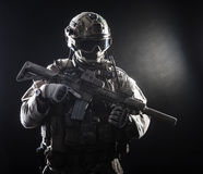 Special forces soldier Royalty Free Stock Photography