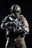 Special forces soldier Royalty Free Stock Photo