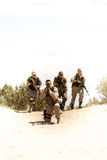Special Forces tactical team Royalty Free Stock Photos