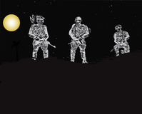 Special Forces Unit Royalty Free Stock Image