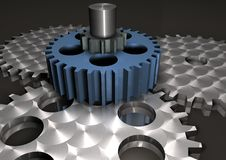 Special Gears Stock Photo