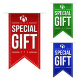 Special gift banner design set Stock Images
