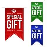 Special gift banner design set Stock Images
