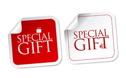 Special Gift Stickers Royalty Free Stock Image