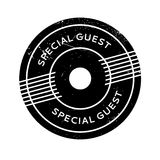 Special Guest rubber stamp Stock Photo