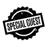 Special Guest rubber stamp. Grunge design with dust scratches. Effects can be easily removed for a clean, crisp look. Color is easily changed Stock Image