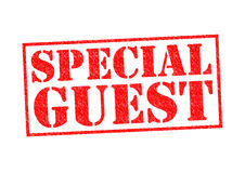 SPECIAL GUEST Royalty Free Stock Image