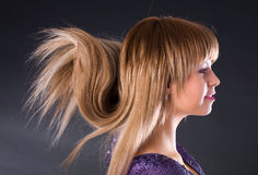 Special hairstyle Stock Images