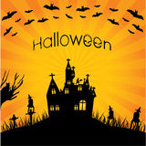 Special halloween background Stock Photo