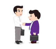Special handshake Royalty Free Stock Photo
