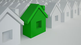 Special house, best purchase concept Stock Image