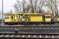 Special järnväg vagn Royaltyfria Bilder