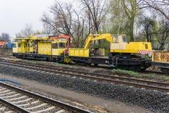 Special järnväg vagn Arkivbilder