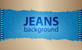 Special jeans background Royalty Free Stock Photography