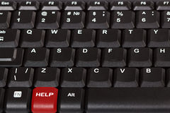 Special Keyboard - Help Stock Image