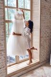Special klänning Arkivbild