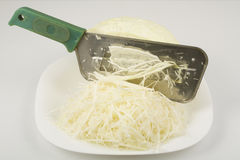 Special knife for chopping cabbage Royalty Free Stock Photos