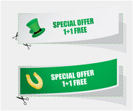 Special labels Royalty Free Stock Photos