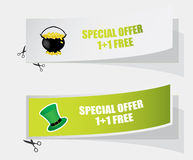 Special labels Stock Images