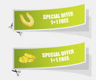Special labels Royalty Free Stock Photo