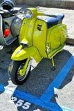Special 150, lammy de Lambretta X vert pomme Photo libre de droits