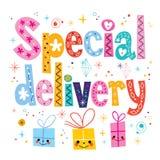 Special leverans Arkivbild