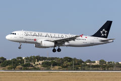 Special livery Turkish Airlines A320 Royalty Free Stock Photography