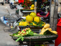 Special local fruits in Hai Phong Royalty Free Stock Photos