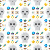 Special magic seamless pattern  Stock Images